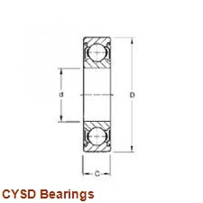 180 mm x 225 mm x 22 mm  CYSD 6836NR deep groove ball bearings