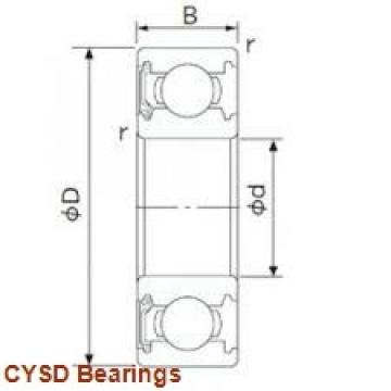 31,75 mm x 79,37 mm x 22,23 mm  CYSD RMS10 deep groove ball bearings