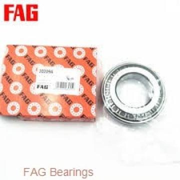 30 mm x 62 mm x 48 mm  FAG 11206-TVH self aligning ball bearings